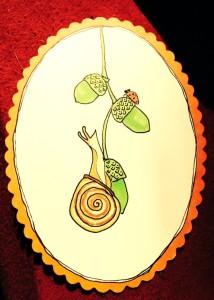 snail acorn